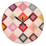 Modelo colorido de las telas reloj