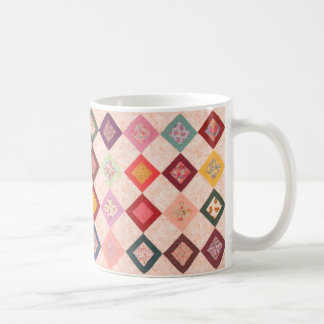 Modelo colorido de las telas tazas
