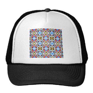 Modelo colorido de los ángulos gorras de camionero