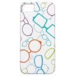 Modelo colorido de los vidrios iPhone 5 Case-Mate cárcasas