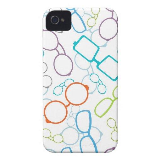 Modelo colorido de los vidrios iPhone 4 Case-Mate carcasa