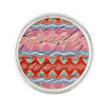 Modelo colorido de moda pin