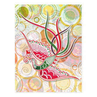 Modelo colorido de Phoenix Tarjetas Postales