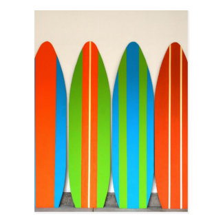 Modelo colorido Deisgn de la tabla hawaiana Postal