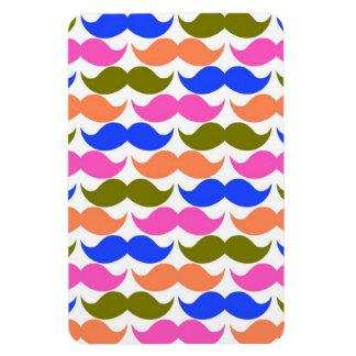 Modelo colorido del bigote del manillar iman