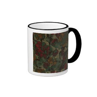 Modelo colorido del camuflaje de la flor taza de dos colores