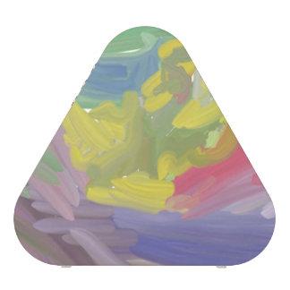 Modelo colorido del caos altavoz bluetooth