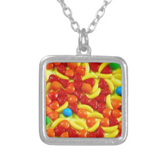 Modelo colorido del caramelo de la fruta collares