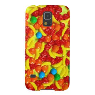 Modelo colorido del caramelo de la fruta carcasas para galaxy s5