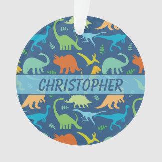 Modelo colorido del dinosaurio a personalizar