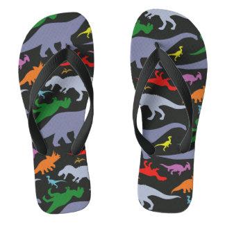 Modelo colorido del dinosaurio (oscuro)