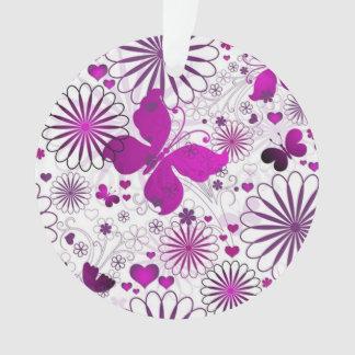 Modelo colorido del fractal de la flor de mariposa