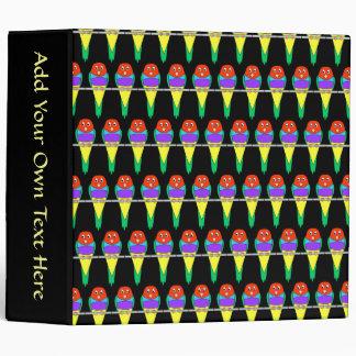 """Modelo colorido del pájaro. Pinzón de Gouldian Carpeta 2"""""""
