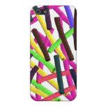 modelo colorido del palillo iPhone 5 protectores