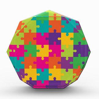 Modelo colorido del rompecabezas