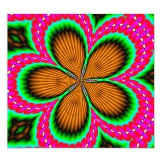 Modelo colorido elegante abstracto foto