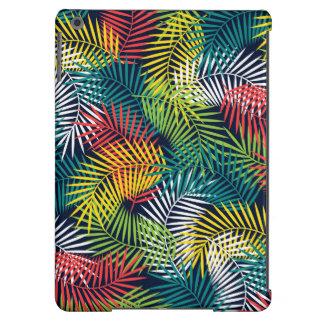 Modelo colorido estilizado de las hojas de palma funda para iPad air