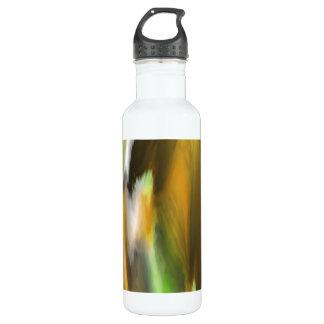 Modelo colorido extraño botella de agua de acero inoxidable