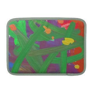 Modelo colorido extraño fundas macbook air