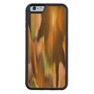 Modelo colorido extraño funda de iPhone 6 bumper cerezo
