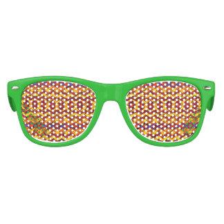 Modelo colorido impresionante gafas de fiesta