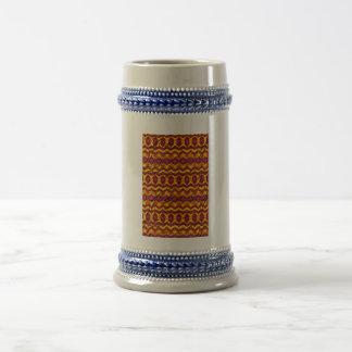 Modelo colorido impresionante taza