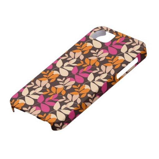 modelo colorido lamentable de las hojas iPhone 5 cárcasa
