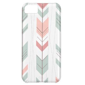 Modelo colorido lindo de las flechas carcasa para iPhone 5C