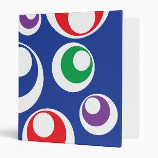 Modelo colorido loco del azul de las bolas del cír