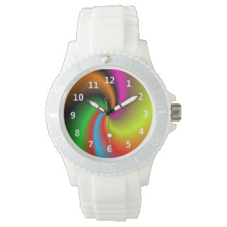 Modelo colorido moderno abstracto relojes de mano