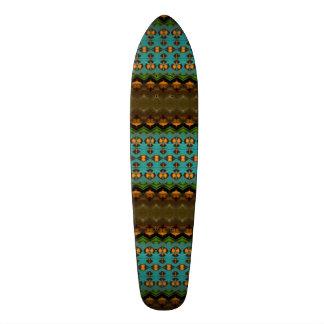 Modelo colorido moderno tabla de skate