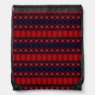 Modelo colorido oscuro mochilas