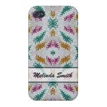 modelo colorido personalizado iPhone 4 carcasas