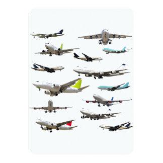 """Modelo comercial de la variedad del jet invitación 5"""" x 7"""""""