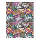 Modelo cómico 10 de las alcaparras de Supergirl Tarjeta Postal