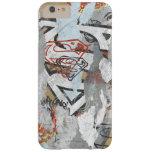 Modelo cómico 1 de las alcaparras de Supergirl Funda De iPhone 6 Plus Barely There