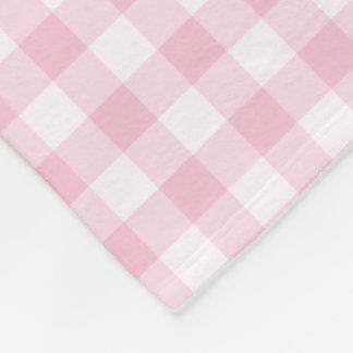 Modelo comprobado guinga del rosa en colores manta polar