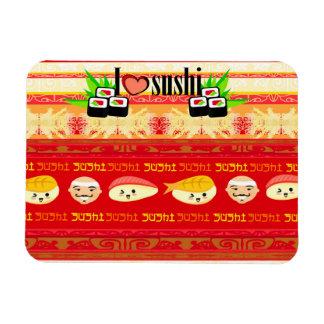 modelo con el imán superior de Flexi del sushi