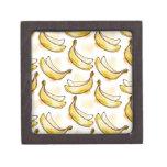 Modelo con el plátano caja de joyas de calidad