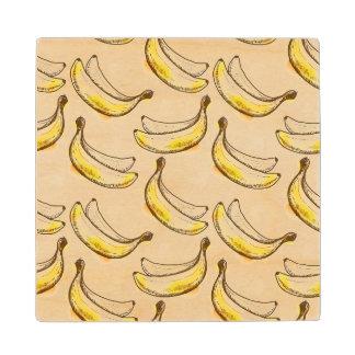 Modelo con el plátano
