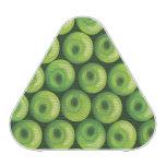 Modelo con las manzanas verdes
