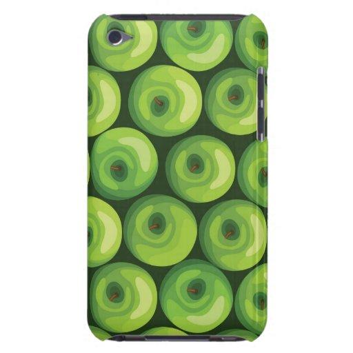 Modelo con las manzanas verdes carcasa para iPod