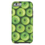 Modelo con las manzanas verdes funda resistente iPhone 6
