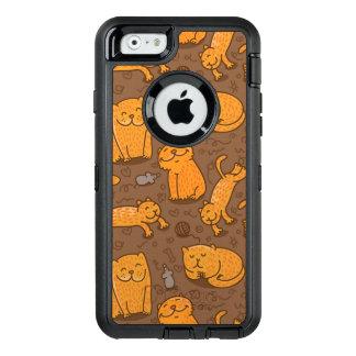 Modelo con los gatos funda otterbox para iPhone 6/6s