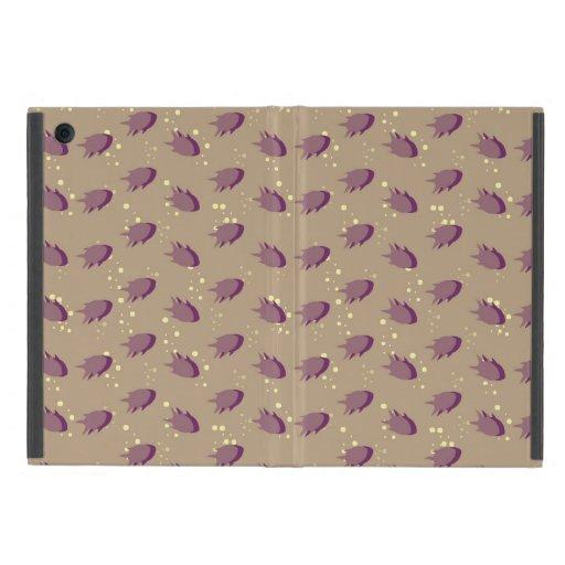 modelo con los pescados iPad mini cobertura
