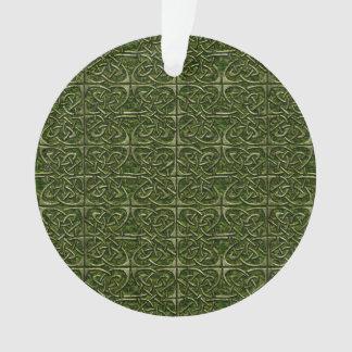 Modelo conectado piedra cubierto musgo del Celtic