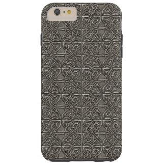 Modelo conectado plata brillante del Celtic de los Funda Para iPhone 6 Plus Tough
