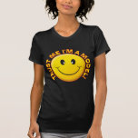 Modelo confíeme en sonrisa camiseta