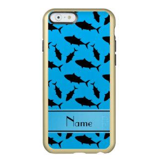 Modelo conocido de encargo del atún de bluefin del funda para iPhone 6 plus incipio feather shine