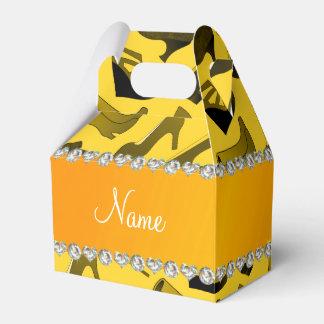 Modelo conocido de los zapatos de las mujeres cajas para detalles de boda